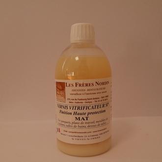 FRERES NORDIN - Vernis vitrificateur mat en bouteille 500ml