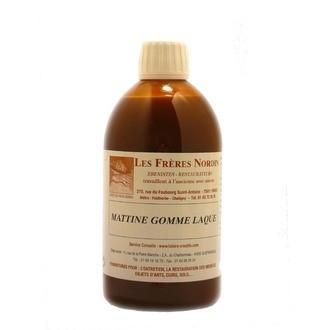 FRERES NORDIN - Patine à base de cire et de résine naturelle en bouteille 500ml