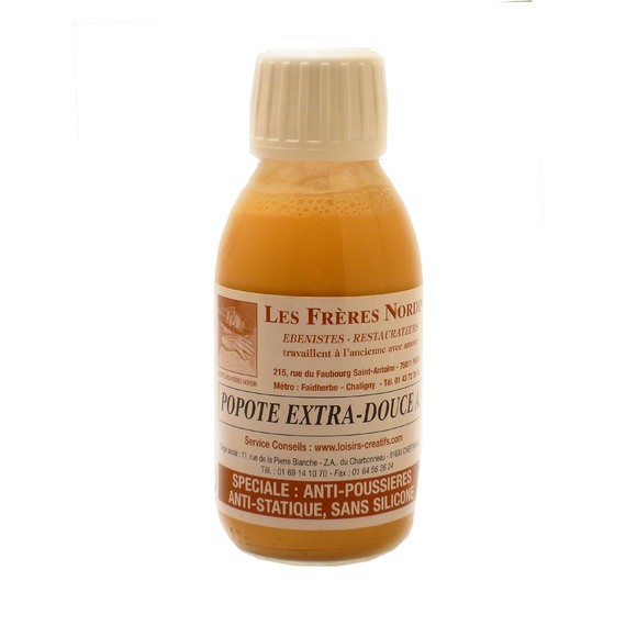 Popote extra-douce en bouteille 125ml
