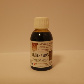 FRERES NORDIN - Teinte mordante à l'eau chêne moyen en bouteille 125ml