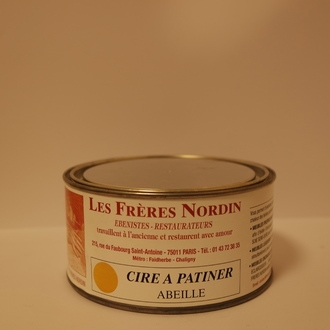FRERES NORDIN - Cire à patiner abeille en pot 250 ml