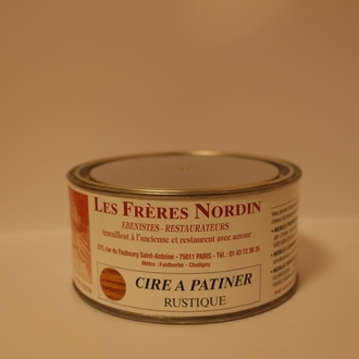 FRERES NORDIN - Cire à patiner rustique en pot 250 ml