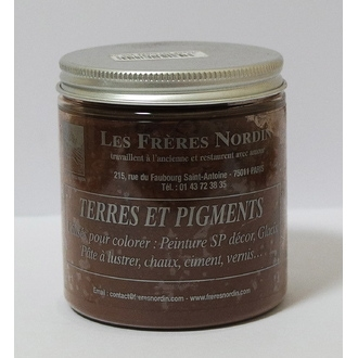 FRERES NORDIN - Terre pigment ombre calcinée 200g
