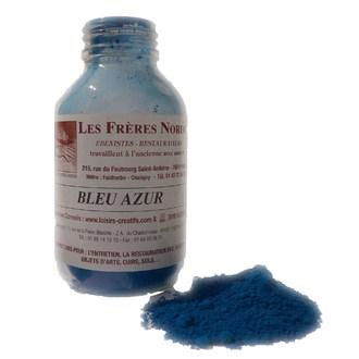 FRERES NORDIN - Terre pigment bleu azur en bouteille 30ml