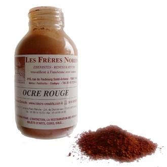 FRERES NORDIN - Terre pigment ocre rouge en bouteille 30ml