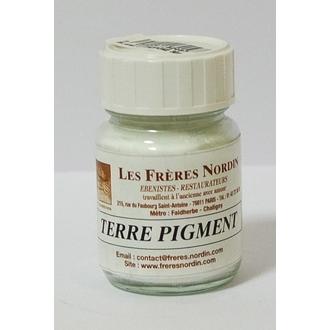 FRERES NORDIN - Terre pigment blanc de titane en bouteille 30ml