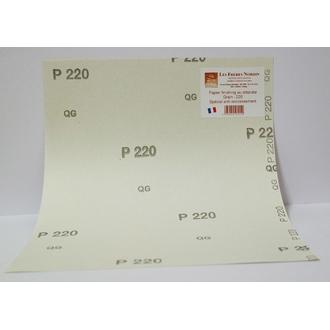 FRERES NORDIN - Papier finishing au stéréate spécial anti-encrassement grain 220