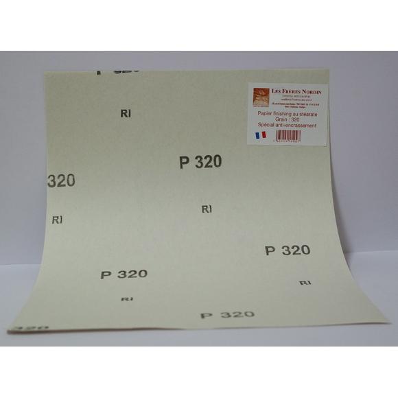 Papier ponce grain 320