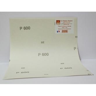 FRERES NORDIN - Papier finishing au stéréate spécial anti-encrassement grain 600