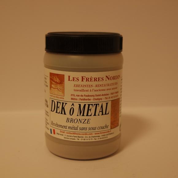Dek ô métal bronze en bouteille 400g