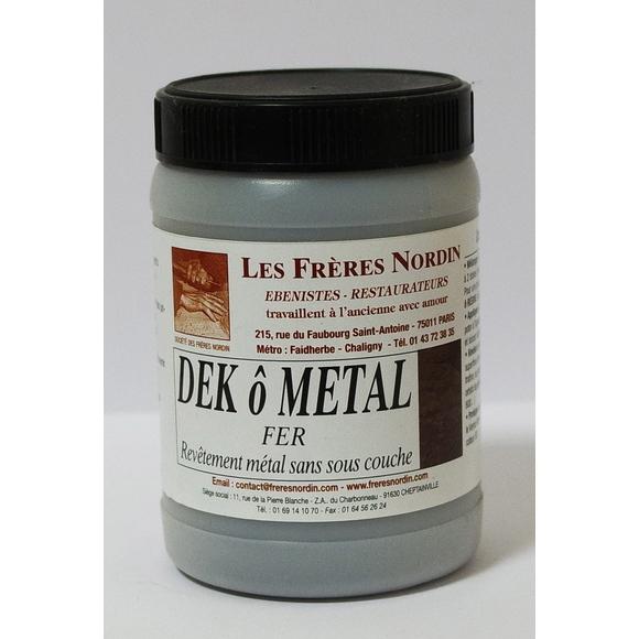 Dek ô métal fer en bouteille 400g