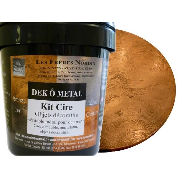 Dek ô métal bronze cire en kit 400ml