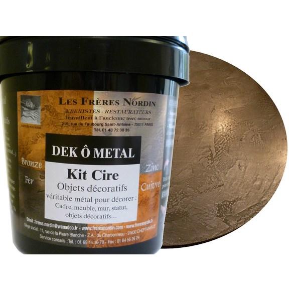 Dek ô métal fer cire en kit 400ml