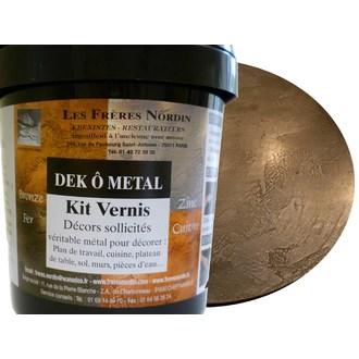 FRERES NORDIN - Dek ô métal fer vernis en kit 400ml