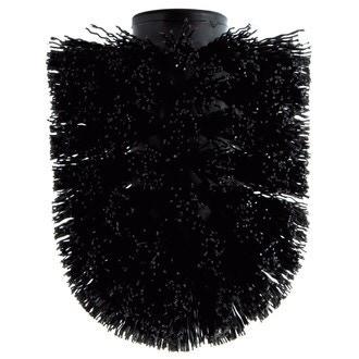 Tête de brosse pour wc noir