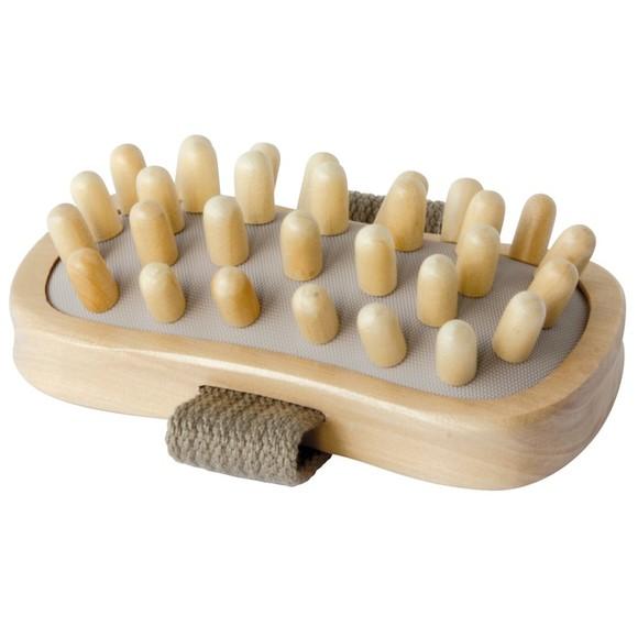 Brosse de massage anti-capiton à gros picots
