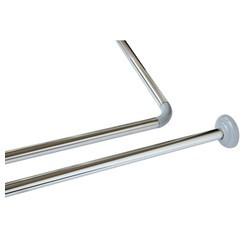Achat en ligne Barre de douche modulable en inox chromé diamètre 22mm