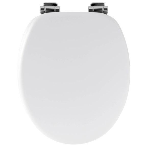 Achat en ligne Abattant de toilette Amy avec frein de chute blanc