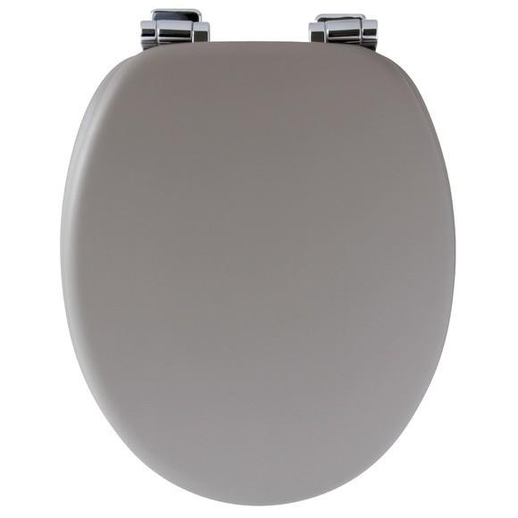 Achat en ligne Abattant de toilette alto avec frein de chute gris clair