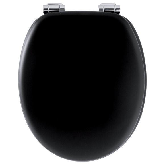 Achat en ligne Abattant de toilette alto avec frein de chute noir