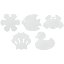 Achat en ligne Set de 6 caillebotis antidérapantes adhésifs blanc