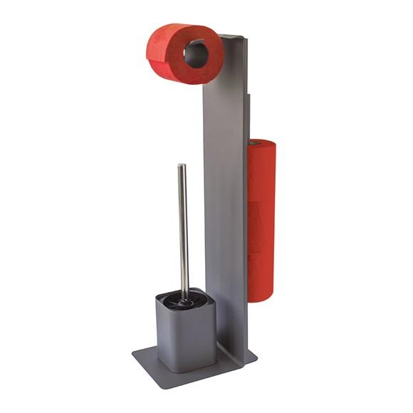 Valet de toilette multi-fonctions en métal