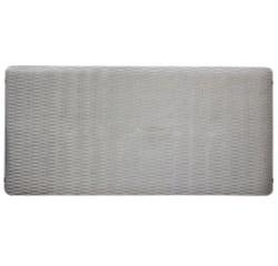 acquista online Tappetino doccia antiscivolo argento 38x78cm