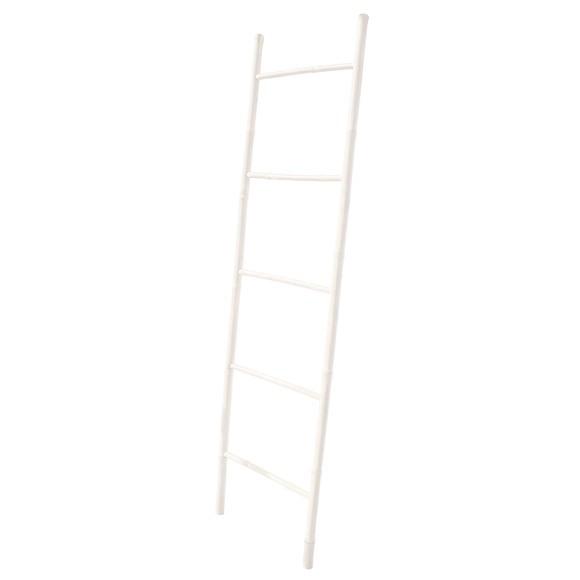 Echelle en bambou blanche scali 50x180cm pas cher z dio - Echelle bambou pas cher ...