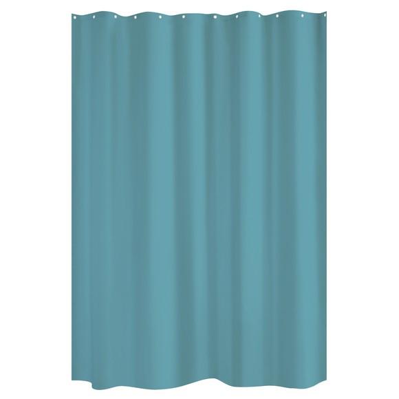 zodio rideau de douche bleu paon 180x200cm pas cher z dio. Black Bedroom Furniture Sets. Home Design Ideas