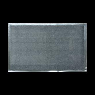 Tapis d'intérieur gris acier 60x90cm