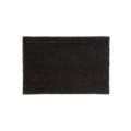 Tapis d'entrée antidérapant coco anthracite 33x60cm