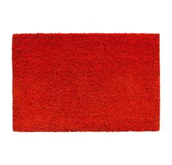 Achat en ligne Tapis d'entrée rectangulaire antidérapant coco rouge 33x60cm