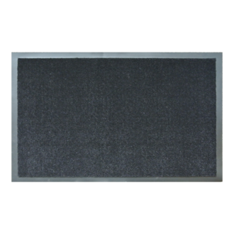 Tapis d'intérieur réglisse polyamide 60x90cm