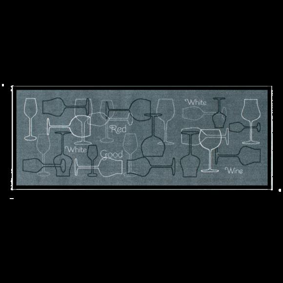 Tapis de cuisine antidérapant Grand cru 50x120cm