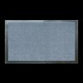 Tapis d'intérieur zinc mat polyamide 40x60cm