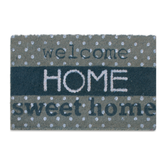 Tapis d'extérieur coco Home sweet home 40x70cm