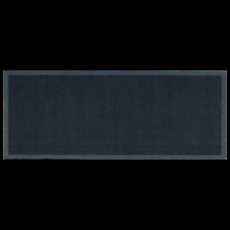 Tapis de cuisine antidérapant uni gris 50x120cm