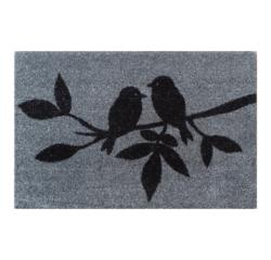 Achat en ligne Tapis polyamide motif Mésanges 40x60cm