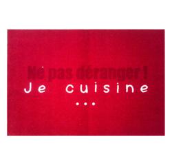Achat en ligne Tapis de cuisine antidérapant Ne pas déranger 50x75cm
