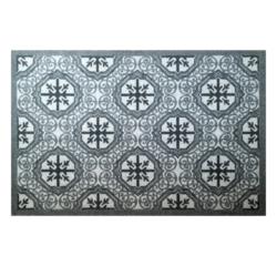 Achat en ligne Tapis anti-poussière en polyamide gris ciment 50x75cm