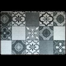 Achat en ligne Tapis anti-poussière en polyamide gris 50x75cm