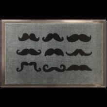 Achat en ligne Tapis de propreté imprimé moustache 40x60cm