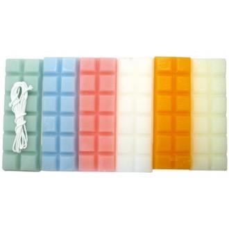 GRAINE CREATIVE - Bougie à modeler - couleurs pastel - 230g