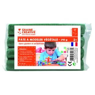 Pâte à modeler végétale vert 290g