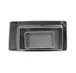 Achat en ligne Set de 3 emporte-pièces rectangles en inox