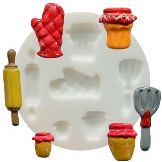 Moule flexible en silicone blanc Cuisine 70 mm
