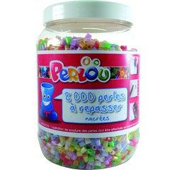 Achat en ligne Set 8000 perles à repasser nacrées