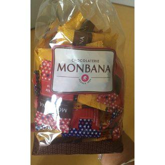MONBANA - Sachet 50 biscuits assorti 195g