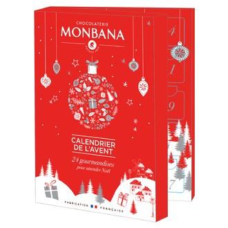 Monbana calendrier de l'avent 2018
