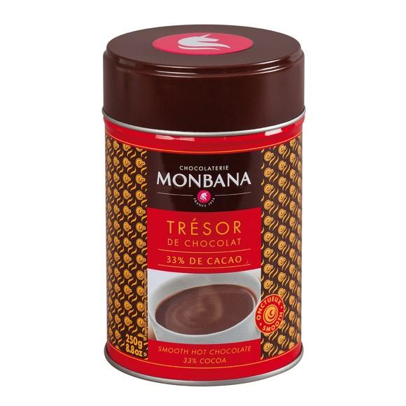 Achat en ligne Chocolat en poudre Trésor de chocolat 250g en boîte métal